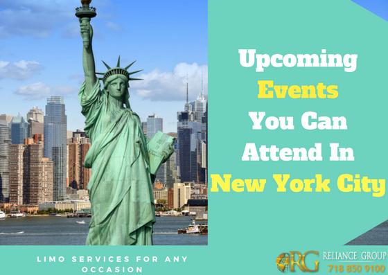 Upcoming Events You Can Attend In New York City